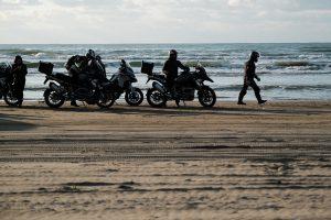 plage de chirihama à moto
