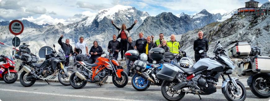 devis voyage moto