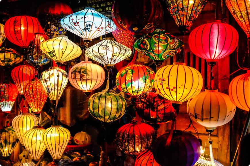 festival des lanternes hoi an
