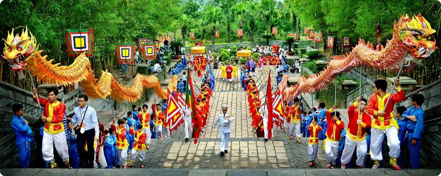 festival du roi hung sur la montagne nghia linh