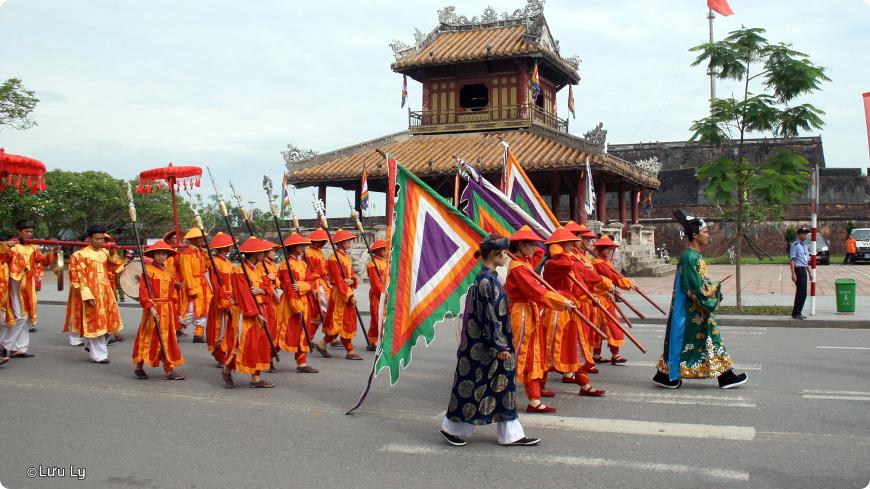 festival de hue au vietnam