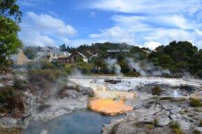 geysers du village de whakarewarewa