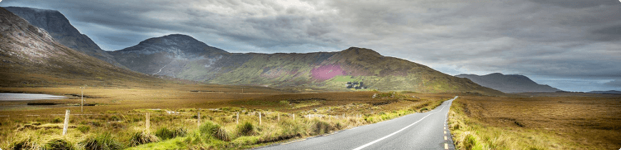 roadtrip et voyage moto en irlande
