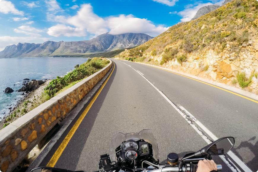 voyage moto en afrique du sud sur la garden route
