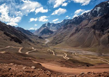 voyage moto au argentine sur la route des aztèques