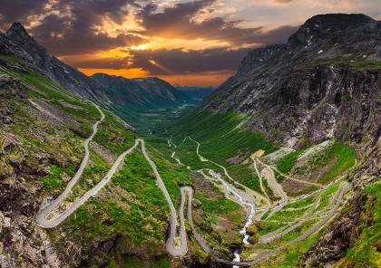 voyage et circuit moto en norvège