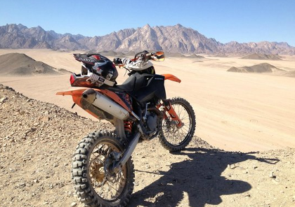 voyage moto et road trip moto en egypte