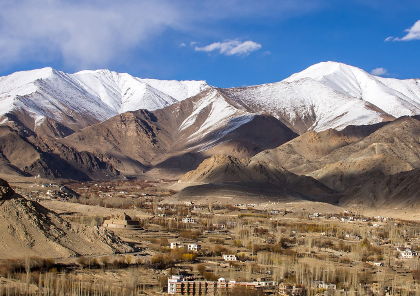 circuit moto et road trip en inde dans la région de ladakh