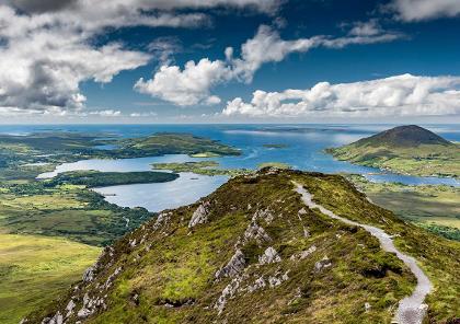 voyage moto en irlande entre terre et mer