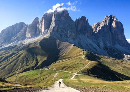 voyage moto dans les dolomites italiennes