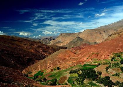 voyage moto au cœur de l'atlas marocain