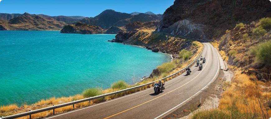 voyage moto au mexique en basse californie en harley davidson