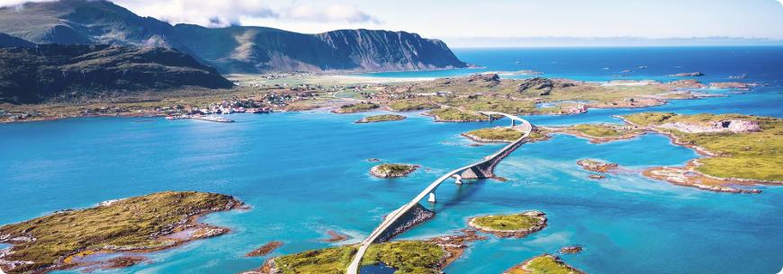 road trip et voyage moto norvège