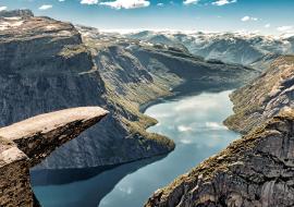 voyage moto norvège