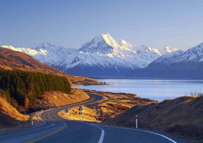 voyage moto en nouvelle zélande du nord au sud