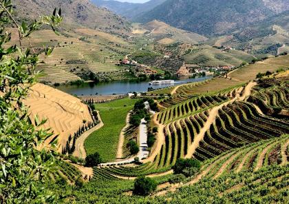 voyage moto en portugal dans la vallée du douro