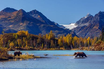voyage à moto dans l'alaska américain