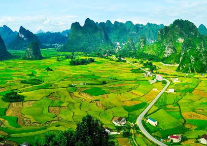 voyage moto dans le nord est du vietnam